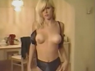 Gena Lee Nolin stripping & fucking in doggy style on her private home videos from Celebs Video Archive