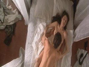 Angelina Jolie fucking in four exciting sex videos from the Original Sin from Celebs Video Archive