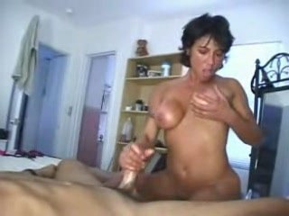 Busty gadget worships cock and caresses heavy boobies from HomeMade Vids