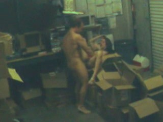 Back room in the office is perfect for fuck! from Security Cams Fuck