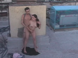 Latina couple watched by security cam! from Security Cams Fuck