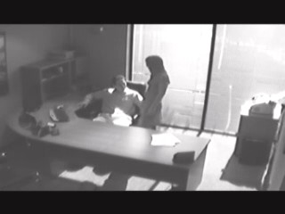 Chiseled boss drilling his uninhibited secretary! from Security Cams Fuck
