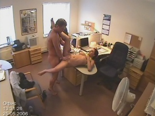 Tantalizing office kip! from Security Cams Fuck