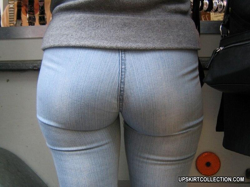 Culos apretados en jeans