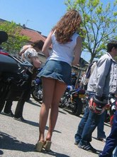 Upskirt panty pictures of hundreds of hot unsuspicious girls from Upskirt Collection